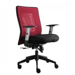 Kancelářská židle KLASIK LEXA bez podhlavníku