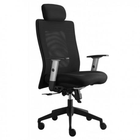 Kancelářská židle KLASIK LEXA s opěrkou hlavy