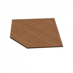 Rohový díl kancelářského stolu BAAS roh 90°