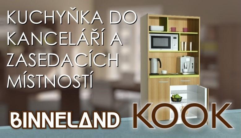 Kancelářská kuchyňka Binneland KOOK